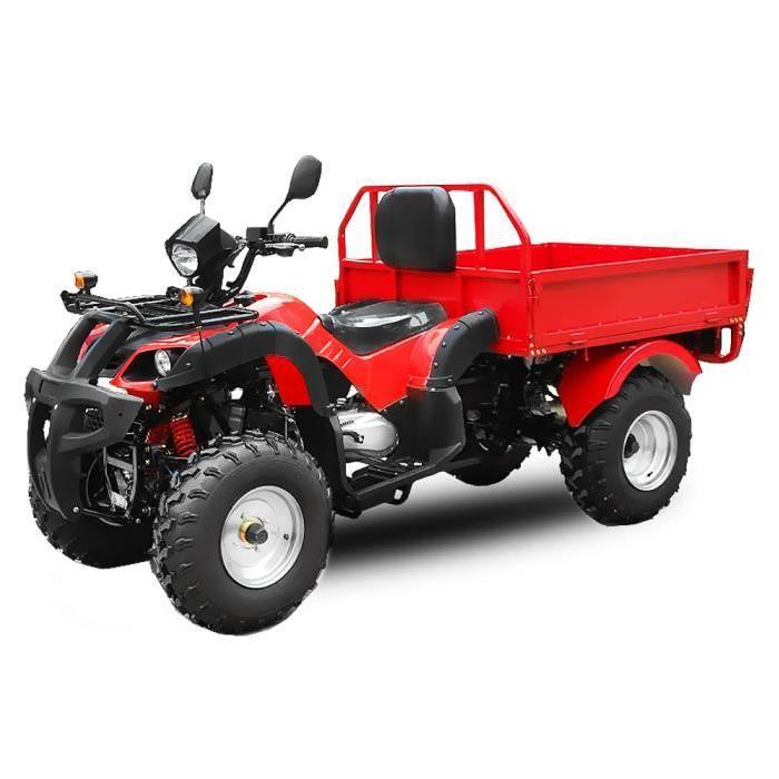 Quad DUMPER NOIR 200cc Remorque integrée Achat / Vente quad Quad