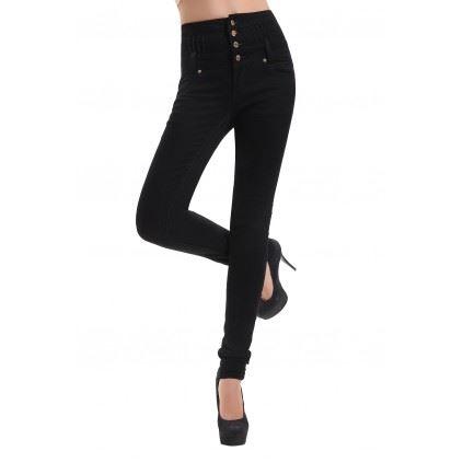 pantalon taille haute femme topiwall. Black Bedroom Furniture Sets. Home Design Ideas