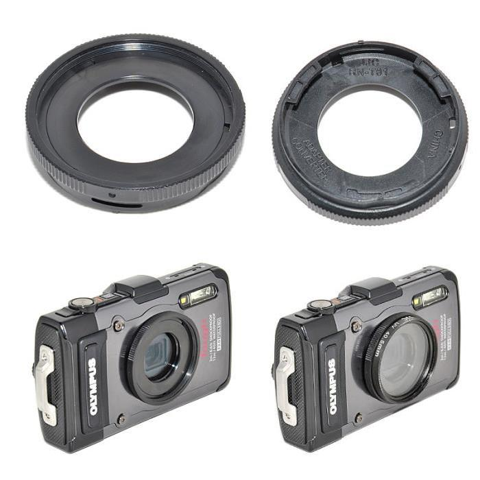Adaptateur Bague pour Olympus TG 1 TG 2 TG 3 Remplace Olympus CLA