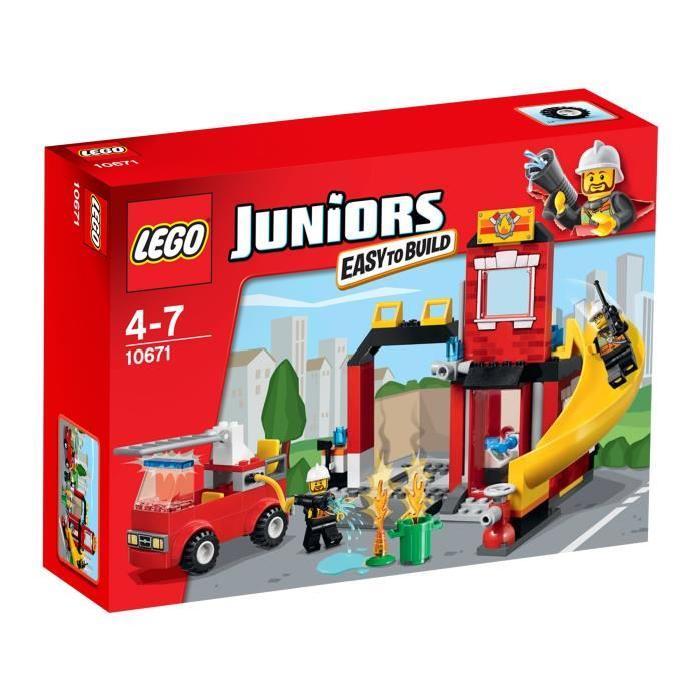 LEGO® Juniors 10671 La caserne des pompiers Achat / Vente