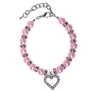 collier de perles Collier pour chien collier de chien en forme de