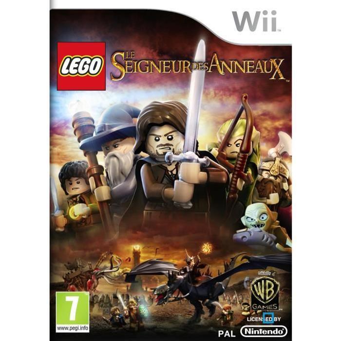 LEGO SEIGNEUR DES ANNEAUX / Jeu console Wii Achat / Vente jeux wii