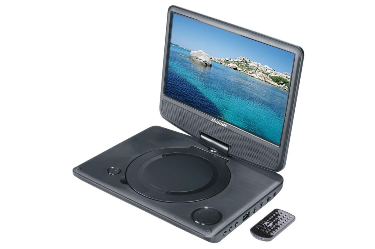 DVD portable Brandt DVDP 9R (4053958) |