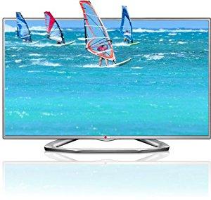 LG 32LA6136 TV LCD 31 » (80 cm) LED 1080p, 480p pixels Argent Classe a