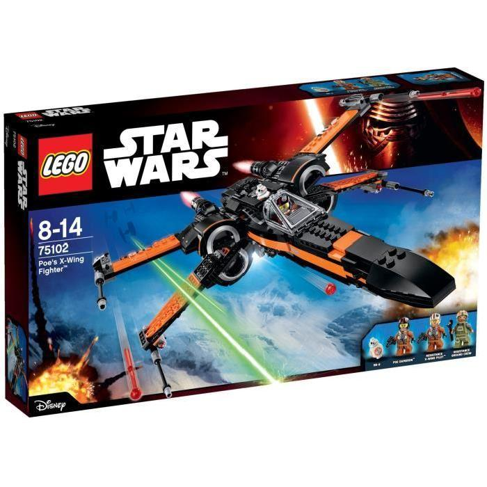 LEGO® Star Wars 75102 Poe's X Wing Fighter Achat / Vente assemblage
