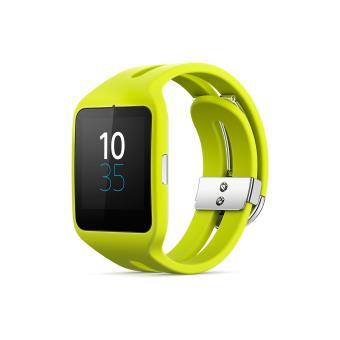 sony smartwatch 3 sport jaune montre multifonctions sony 4 2 avis