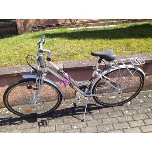 Vélo femme modèle gentiane marque Optimalp (cora) Optimalp (Cora)