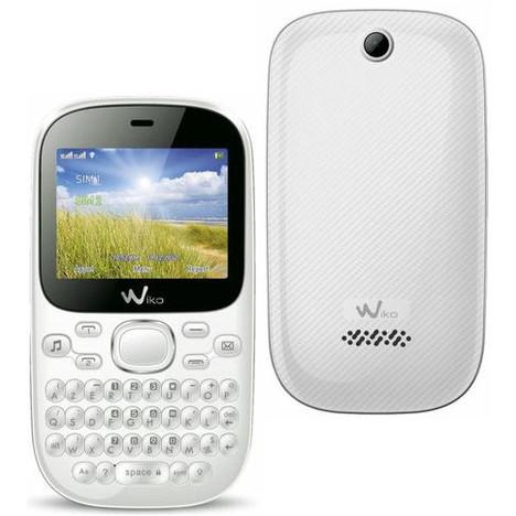 non smartphone Minz Plus Blanc WIKO pas cher à prix