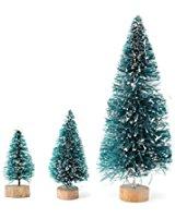 Sapin de Noël Arbre Miniature en Plastique pour 1/12 Échelle Maison