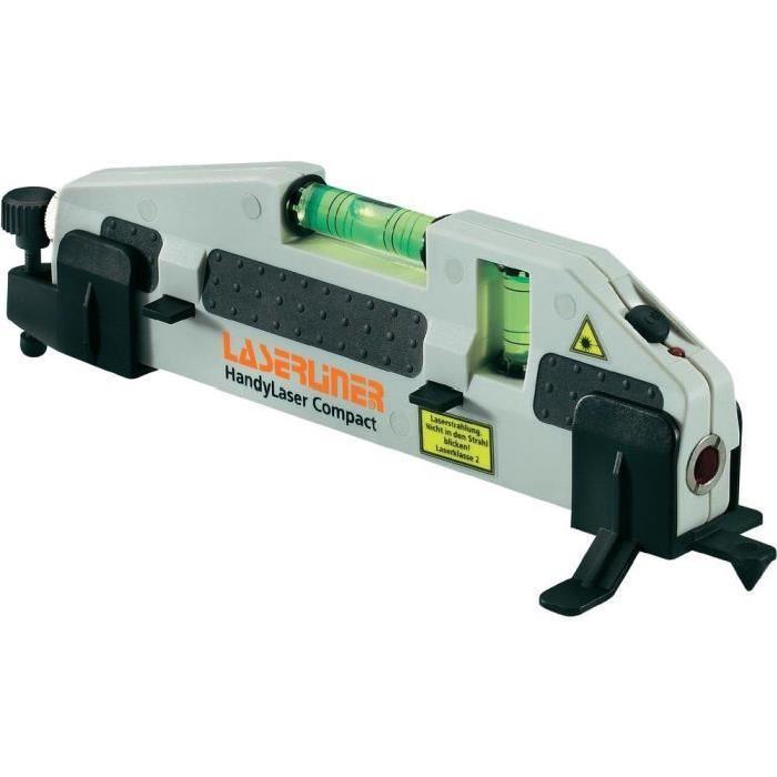 Niveau laser portable compact Laserliner 025.03.00A Niveau laser