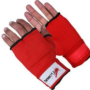 Gants de Boxe Muay Thai MMA Rouge afficher le titre d'origine