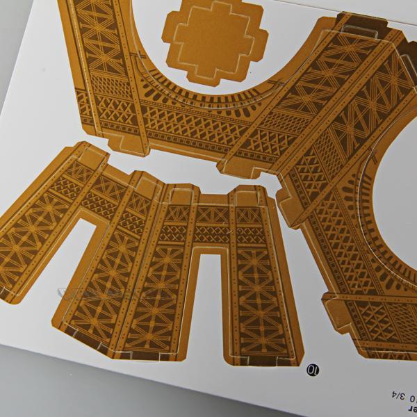 sur MINI Boîte Puzzle 3D Jeux Jouet Educatif Tour Eiffel Enfant
