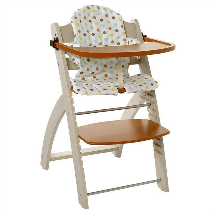 Chaise haute 1er âge A partir de 6 mois Garçon & fille Coloris