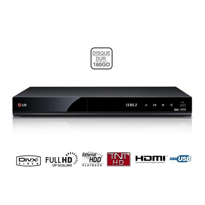 LG RH731T Lecteur DVD Enregistreur 160 Go Achat / Vente lecteur blu