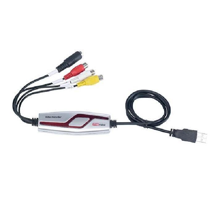 Boitier USB d acquisition audio vidéo Grundig Grâce à ce boitier