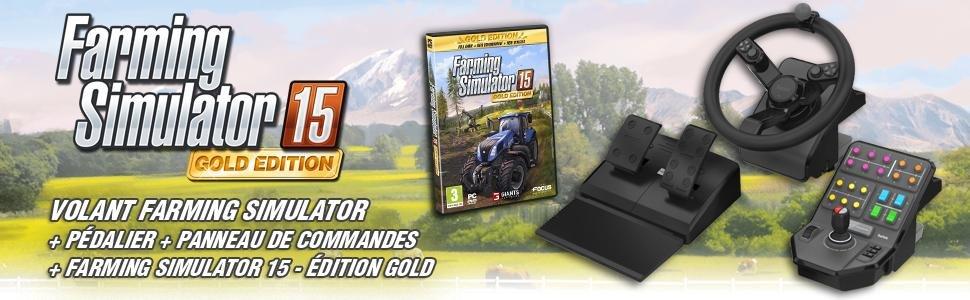 Farming Simulator 15 édition gold pour PC: Jeux vidéo