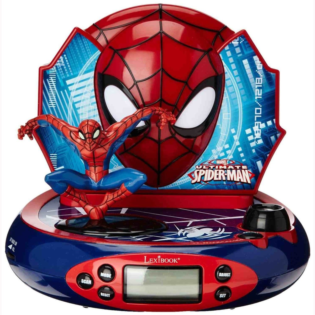projecteur reveil childrens room avengers cars princesse spiderman