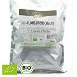Or arachide biologique prime Flohsamenschalen 99% sac pureté de 500g