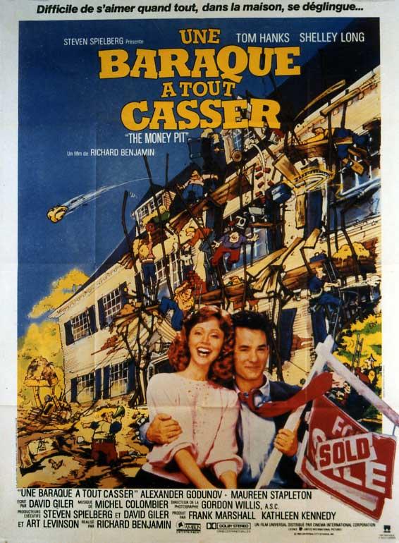 Titre de l'affiche / Poster title : UNE BARAQUE A TOUT CASSER