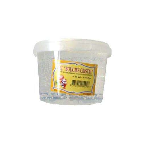Sentosphère Bougie Gel Bougie Cristal 1 L pas cher Achat / Vente