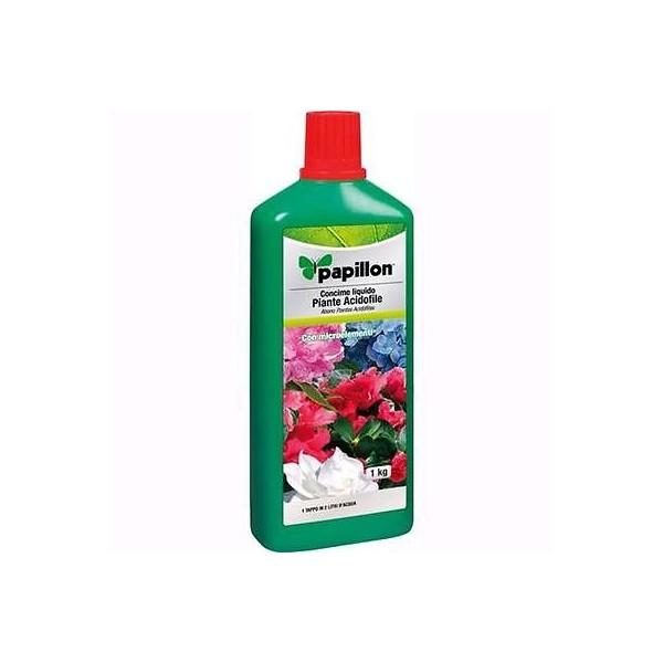 Engrais Liquide Pour Plantes Acidophiles Papillon Bouteille 1 KG