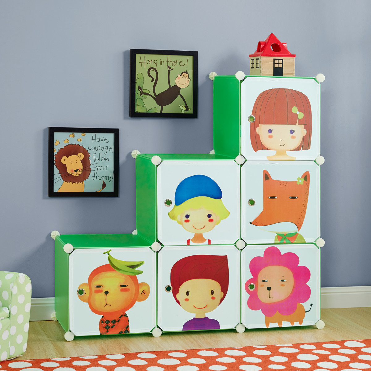 systeme de rangement enfant topiwall. Black Bedroom Furniture Sets. Home Design Ideas