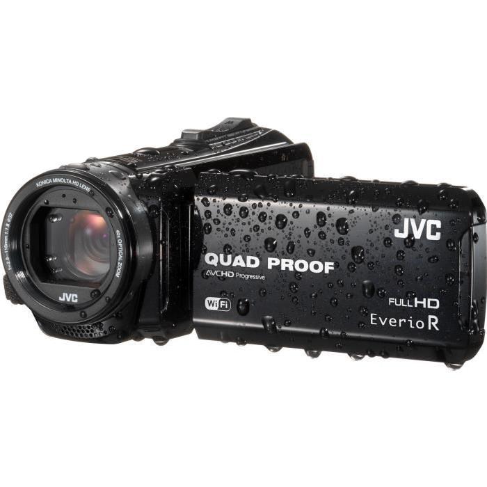 JVC GZ R610BEU Caméscope Tout Terrain Etanche Full HD Noir Achat