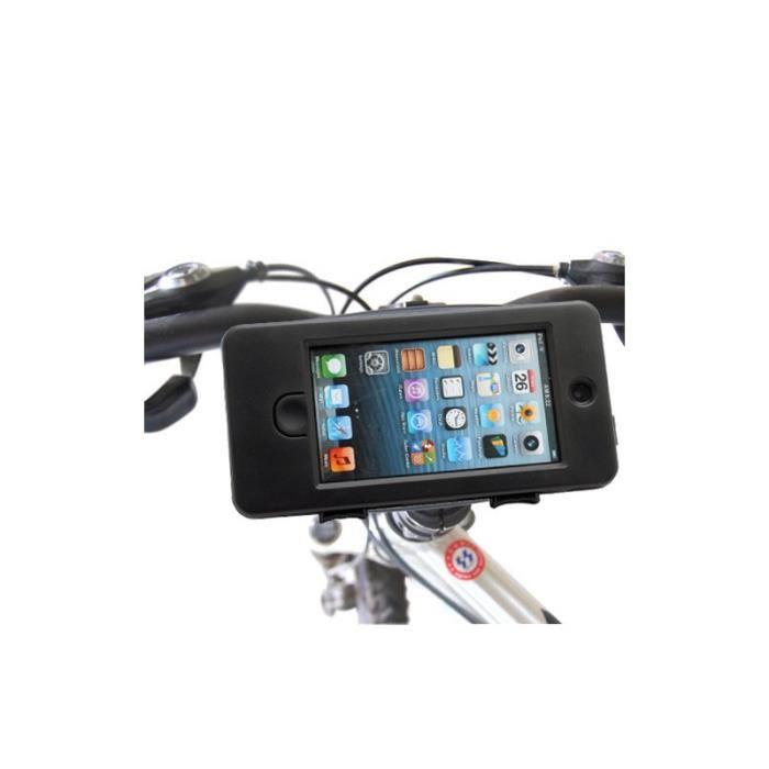 Housse Etui Support vélo étanche anti choc pour iPhone 5/5S Ultra
