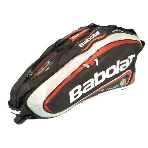 Babolat Sac raquette de tennis Rh 6 team roland garros Noir 15381