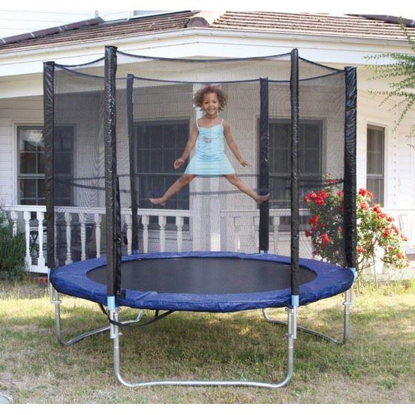 Trampoline avec filet enfant en metal Achat / Vente trampoline