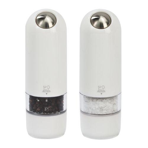 Peugeot Saveurs d'épices Duo Sel et Poivre électrique Blanc Alaska