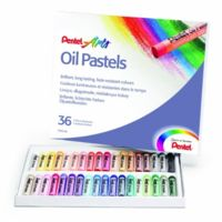 PENTEL Craie Pastelle D'HUILE Phn4, ÉTUI En Plastique De 36 PHN4 36