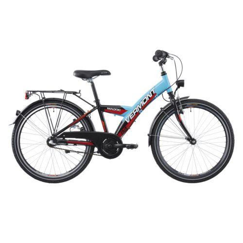 Vermont Vélo Enfant Madoc 24 Vélo 3 vitesses enfant bleu