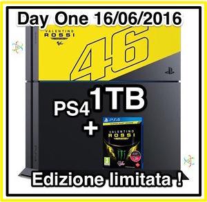 SONY PLAYSTATION 4 PS4 1TB EDIZIONE LIMITATA VALENTINO ROSSI 1 TB 1000
