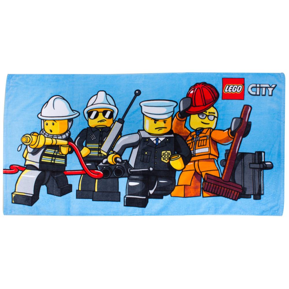 Neuf Serviette DE Bain Lego City Police