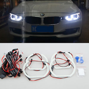 LED Angel Eyes Ampoules anneaux Phare pour BMW F30 E90 E92 M3 M4 4pcs