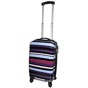 Valise cabine polycarbonate Couleur VIOLET: Vêtements et
