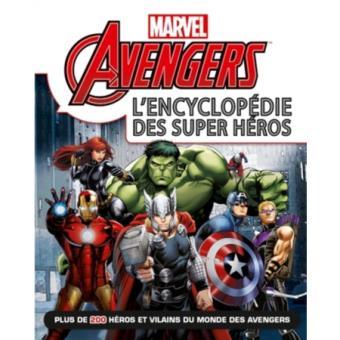 Marvel Heroes L'encyclopédie Avengers Disney relié Achat