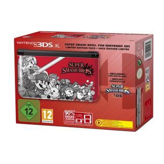 Console Nintendo 3DS XL + Super Smash Bros Edition Spéciale Console