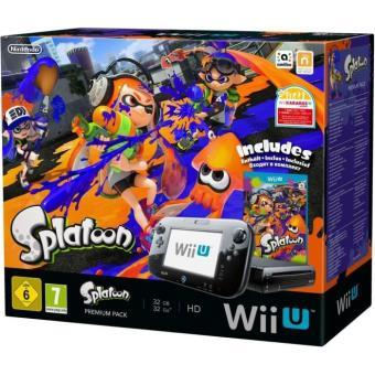 Pack Premium Nintendo Console Wii U + Splatoon Console de jeux de
