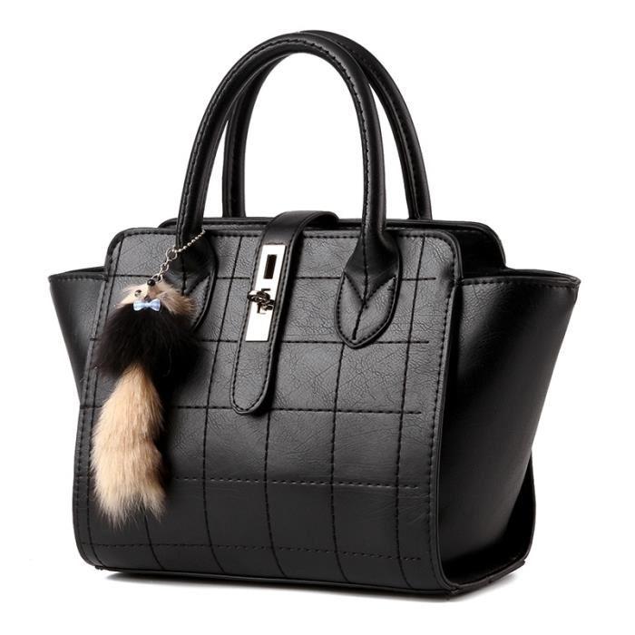 Européenne en cuir de luxe l'épaule de sac à main femme Achat