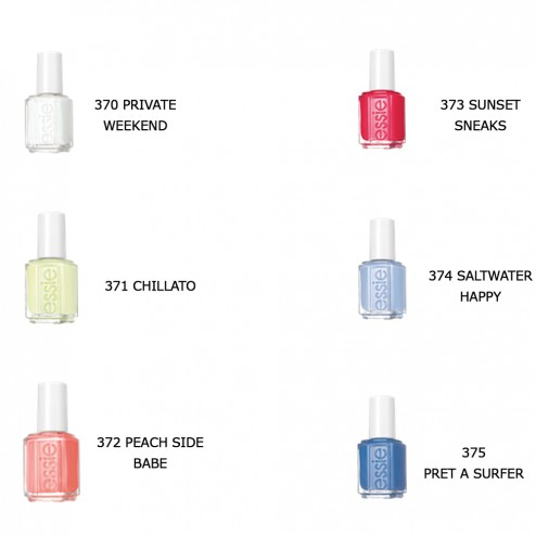 ESSIE VERNIS A ONGLES COLLECTION SUMMER 2015 Easyparapharmacie