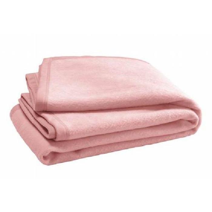 Couverture 75 x 100 cm rose Rose Achat / Vente couverture plaid