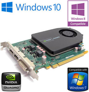 NVIDIA Quadro 2000 1 Go GDDR5 DisplayPort double PCI E carte graphique