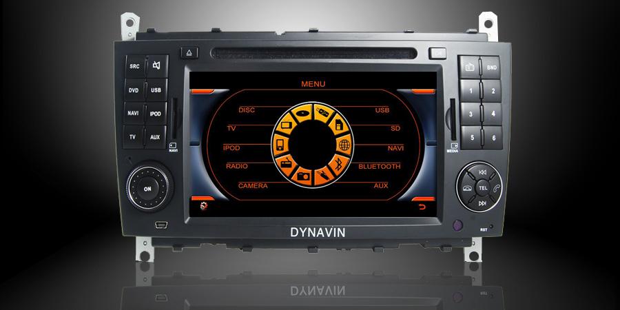 MBC DVD DIVX BLUETOOTH USB SD POUR MERCEDES CLASSE C W203