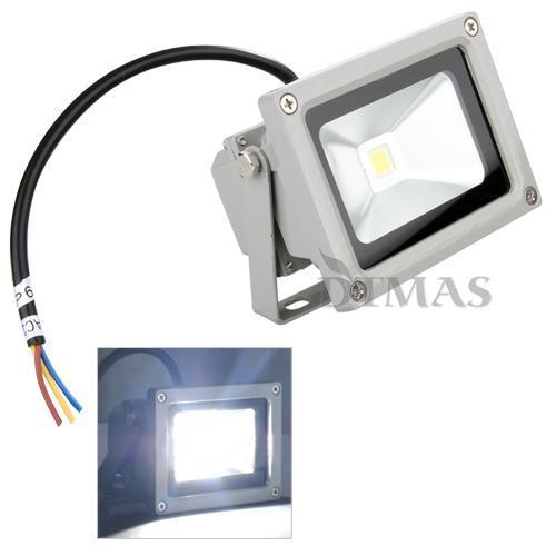 Projecteur Extérieur Lampe Spot LED 10 Watt Blanc Froid