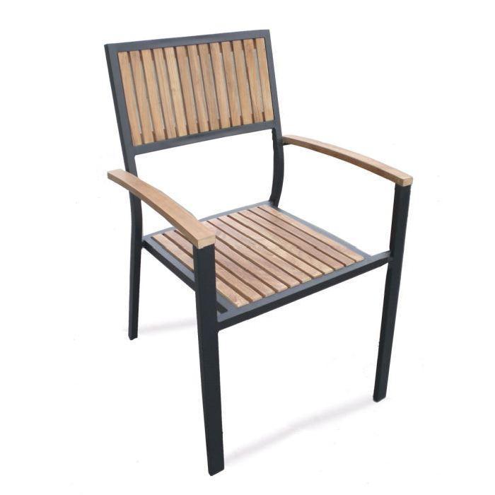 chaise de jardin empilable Achat / Vente fauteuil jardin Chaises de