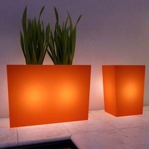 Bac Lumineux Verona Couleur : Orange: Jardin
