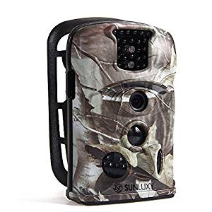 SUNLUXY® 12MP 120°Trail Caméra de Chasse Caméra de Surveillance