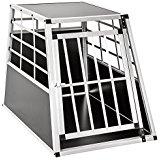 Cage de transport chien aluminium pour transport en voiture single (65